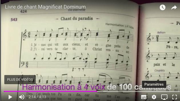 Témoignages d'utilisateurs sur le livre Magnificat Dominum