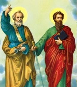 29 Juin: Les Saints Apotres Pierre et Paul